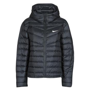 Clothing Women Duffel coats Nike W NSW WR LT WT DWN JKT Black