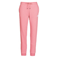 Clothing Women Tracksuit bottoms Nike W NSW ESSNTL PANT REG FLC Pink
