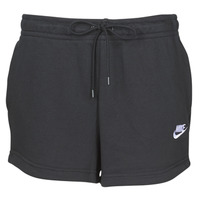 Clothing Women Shorts / Bermudas Nike W NSW ESSNTL SHORT FT Black