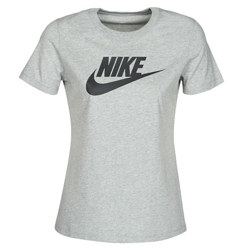 Clothing Women Short-sleeved t-shirts Nike W NSW TEE ESSNTL ICON FUTUR Grey