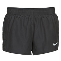 Clothing Women Shorts / Bermudas Nike W NK 10K SHORT Black