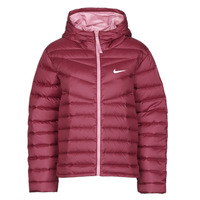 Clothing Women Duffel coats Nike W NSW WR LT WT DWN JKT Bordeaux