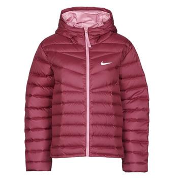 Clothing Women Duffel coats Nike W NSW WR LT WT DWN JKT Bordeaux