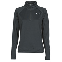 Clothing Women Long sleeved tee-shirts Nike W NK PACER HZ Black