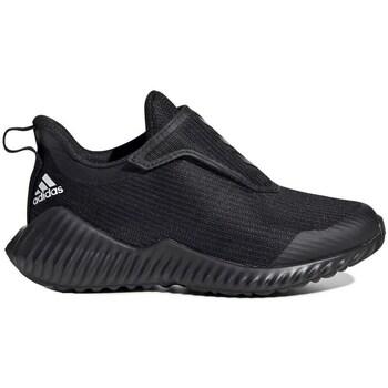 Shoes Children Slip-ons adidas Originals Fortarun AC K Black