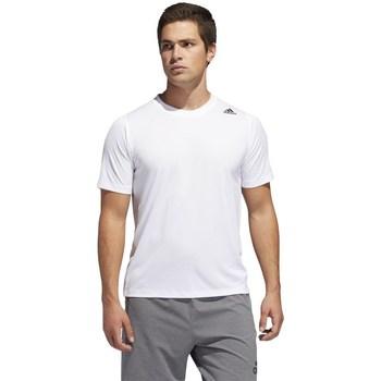 Clothing Men Short-sleeved t-shirts adidas Originals 3STR Freelift White