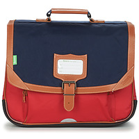 Bags Boy Satchels Tann's ARTHUR CARTABLE 38CM Marine / Red