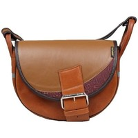 Bags Women Messenger bags Słoń Torbalski Freshman Mini Brown