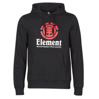 Clothing Men Sweaters Element VERTICAL HOOD Black