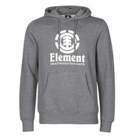 Clothing Men Sweaters Element VERTICAL HOOD Grey