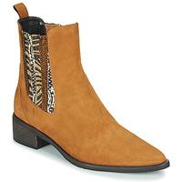 Shoes Women Mid boots Regard BASTIA V3 VEL HAVANE Brown