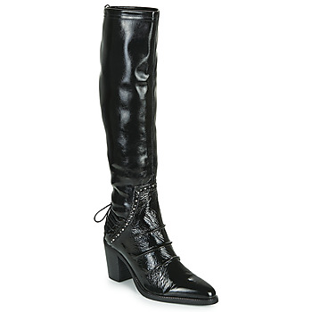 Shoes Women High boots Regard EVREUX V4 NAPLACK NOIR Black