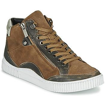 Shoes Women Hi top trainers Regard ISLANDE V2 BONGO CHAMOIS Brown