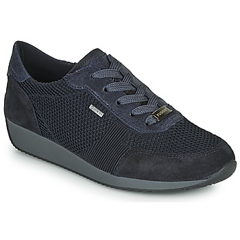Shoes Women Low top trainers Ara LISSABON-FUSI4-GOR Black