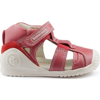 Shoes Children Sandals Biomecanics GIAMO GOMAS LATERALES RED