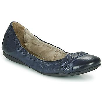 Shoes Women Flat shoes Dream in Green NERLINGO Marine