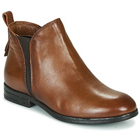 Shoes Women Mid boots Dream in Green LIMIDISE Camel