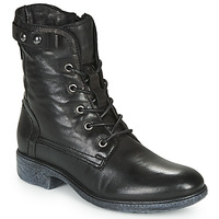 Shoes Women Mid boots Dream in Green NELATINE Black