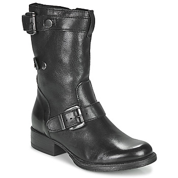 Shoes Women Mid boots Dream in Green NARAMEL Black
