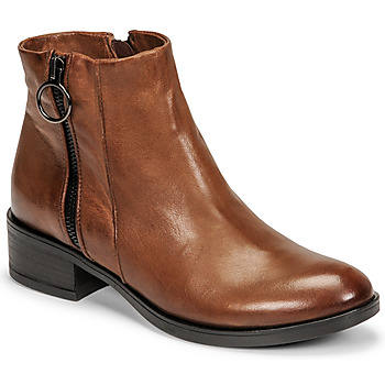 Shoes Women Mid boots Dream in Green NARLINE Camel