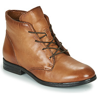Shoes Women Mid boots Dream in Green NERGLISSE Camel