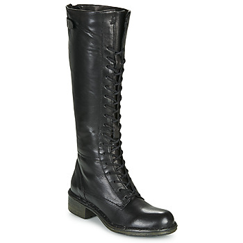 Shoes Women High boots Dream in Green NUCRE Black