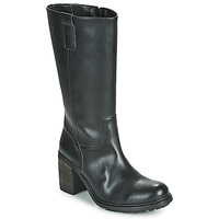 Shoes Women High boots Dream in Green NISCUIT Black