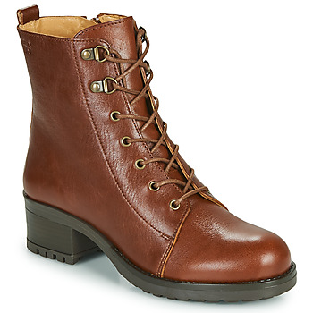 Vintage Boots, Retro Boots Dream in Green  NAFFY  womens Low Ankle Boots in Brown £103.50 AT vintagedancer.com