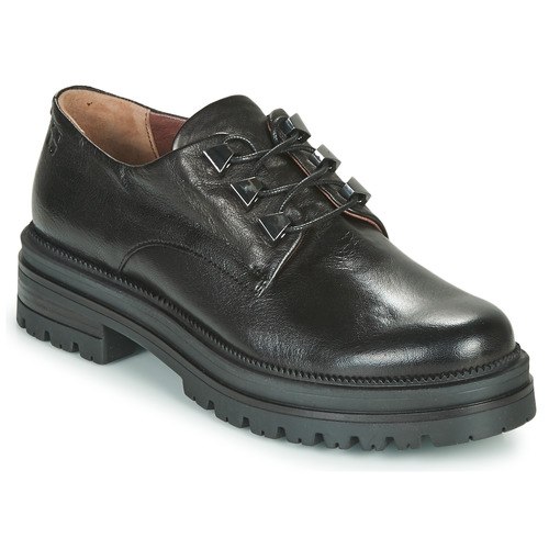 Shoes Women Derby Shoes Dream in Green NARGEE Black