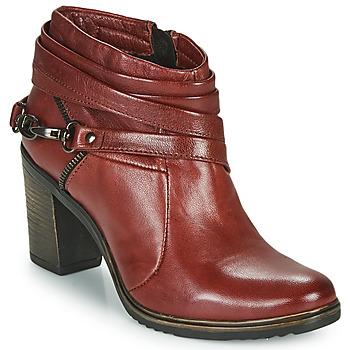 Shoes Women Shoe boots Dream in Green NEGUS Bordeaux