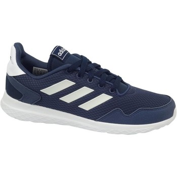 Shoes Children Low top trainers adidas Originals Archivo K White, Navy blue