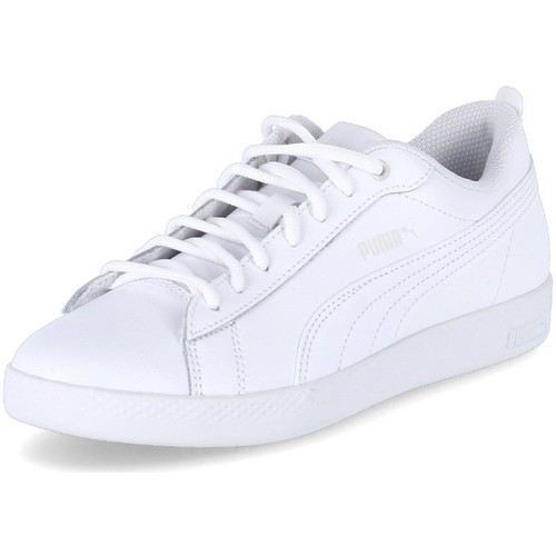 Shoes Women Low top trainers Puma Low Smash Wns White