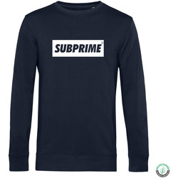Clothing Men sweaters Subprime Sweater Block Navy Blue