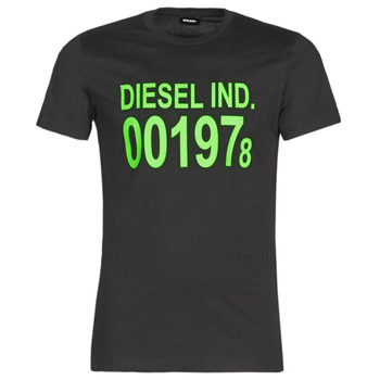 Clothing Men short-sleeved t-shirts Diesel T-DIEGO Black