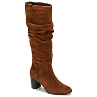 Shoes Women High boots Fericelli NEIGNET Camel
