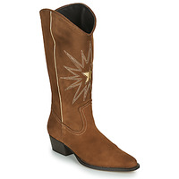 Shoes Women High boots Fericelli NISCOME Camel / Gold
