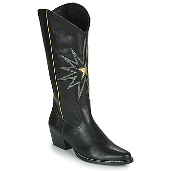 Shoes Women High boots Fericelli NISCOME Black / Gold