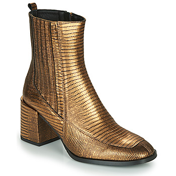 Shoes Women Ankle boots Fericelli NAKE Gold