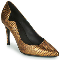 Shoes Women Heels Fericelli NANELE Gold
