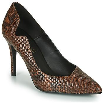 Shoes Women Heels Fericelli NANELE Brown