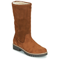 Shoes Women High boots Casual Attitude NESCAGO Camel