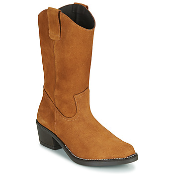 Shoes Women High boots Casual Attitude NESCARGO Camel