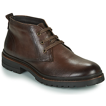 Shoes Men Mid boots Casual Attitude NENDAME Brown