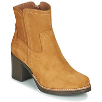 Shoes Women Ankle boots Casual Attitude NIGALE Camel