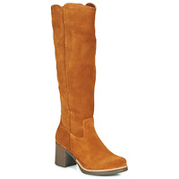 Shoes Women High boots Casual Attitude HAPI Camel