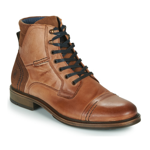 Shoes Men Mid boots Casual Attitude HOKES Brown