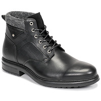 Shoes Men Mid boots Casual Attitude NAPILLON Black