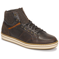 Shoes Men Hi top trainers Casual Attitude NOURDON Brown