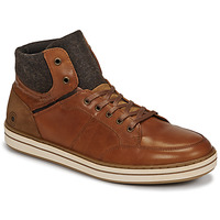 Shoes Men Hi top trainers Casual Attitude NOURDON Camel
