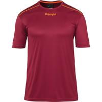 Clothing Boy Short-sleeved t-shirts Kempa Maillot  Poly rouge